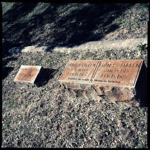 headstone for cullen