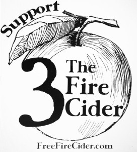 Support the Fire Cider 3 logo