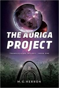 Auriga Project novel cover