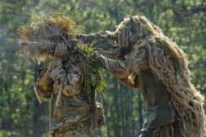 Ghillie suits (Wikipedia)